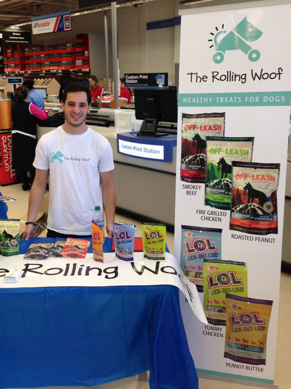 Ryan Stern, The Rolling Woof