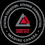 Imagine Canada Accredited Since 2014