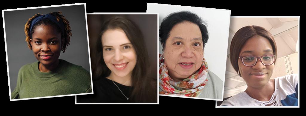 Portraits of immigrant women