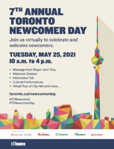 Toronto Newcomer Day 2021 Flyer
